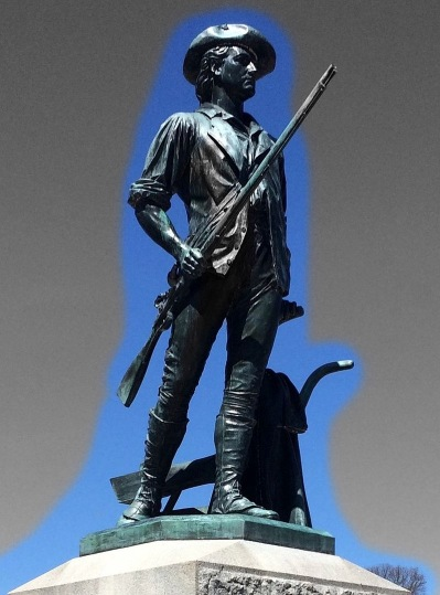 Statue of the Minuteman, Isaac Davis